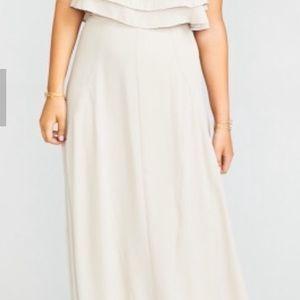 Show Me Your MuMu Princess Di Maxi Skirt NWT